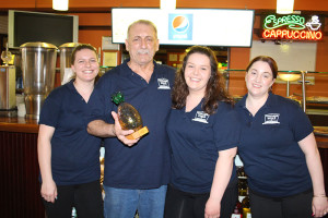 Village Pizza Winner of the Ira Gutner Hospitality Award